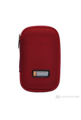 """Classone HD2001 2.5"""" Kırmızı Harddisk Taşıma Çantası"""