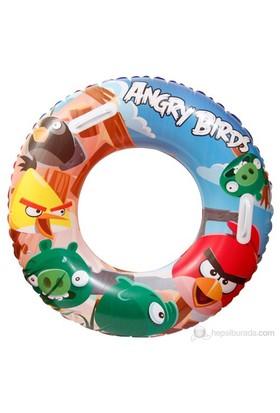 BestWay Angry Birds Lisanslı Jumbo Tutunmalı Simit 91cm