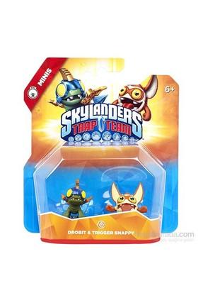 Skylanders Trap Team Mini Drobit + Trigger Happy