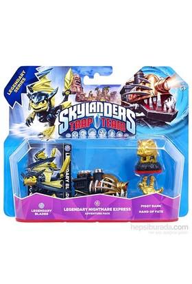 Skylanders Trap Team Macer Blade + N.Mare + Piggy + Fate