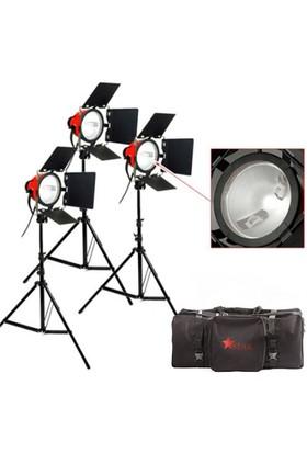 Star 800 Watt Kırmızı Kafa Sürekli Işık