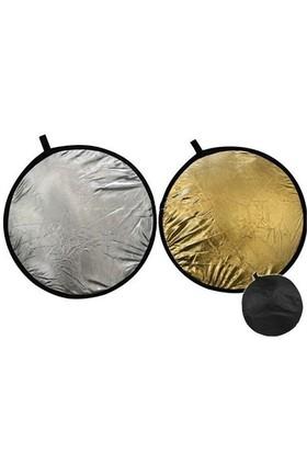 Star 80Cm Silver & Gold Reflektör
