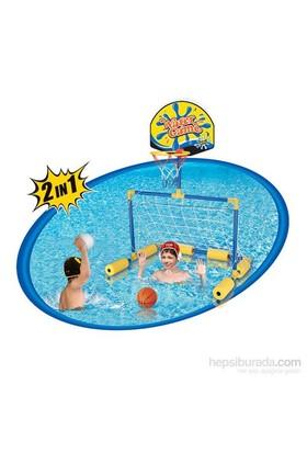 Bestway Yue Guan Havuz Oyun Seti Futbol - Basketbol