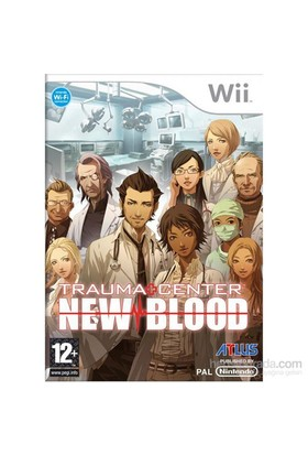 Atlus Wii Trauma Center New Blood