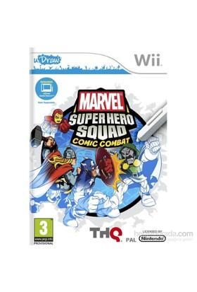 Thq Wii Udraw Marvel Super Hero Squad Comıc Combat