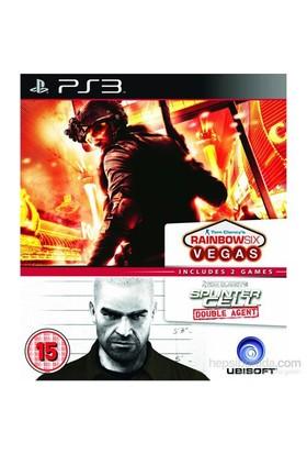 Ubisoft Ps3 Raınbow Sıx Vegas - Splınter Cell Double Agent