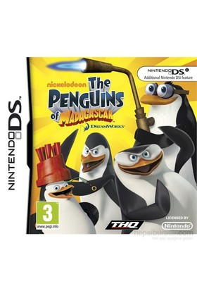 Thq Ds The Penguıns Of Madagascar