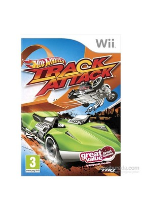 Thq Wii Hot Wheels Track Attack