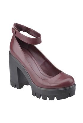 Art Bella C17175 Bordo Kadın Ayakkabı