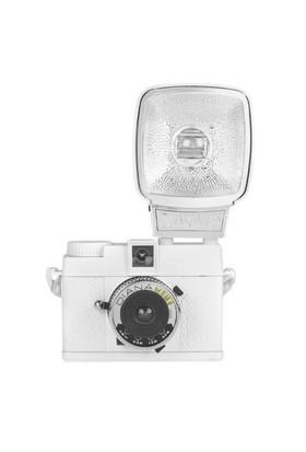 Lomography Diana Mini Ve Flaş Analog Fotoğraf Makinesi Beyaz