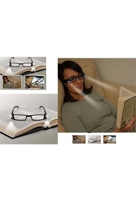 Led Işıklı Kitap Okuma Gözlüğü - Numarasız