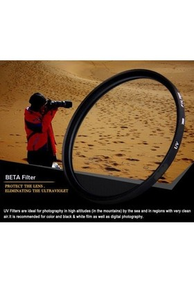 Canon 18-55Mm Lens İçin Ultra Viole Koruyucu Uv Filtre