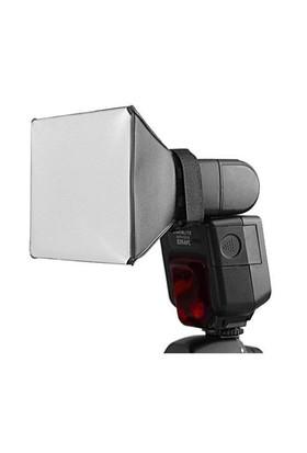Universal Tepe Kafa Flash Flaşları İçin 10X13cm Softbox Yumuşatıcı Diffuser