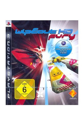 Sony Wipeout Hd Fury Ps3 Oyun