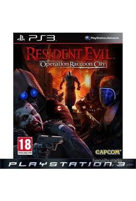 Resident Evil Operation Raccoon City Ps3 Oyunu
