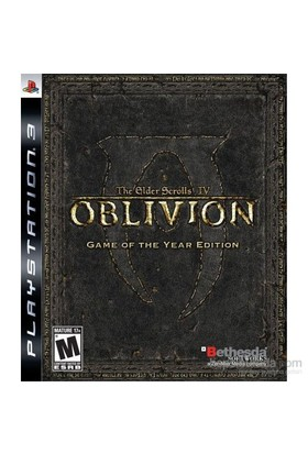 The Elder Scrolls Iv G.O.T.Y.E Ps3 Oyunu