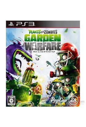 Plants Vs Zombies Garden Warfare Ps3 Oyunu