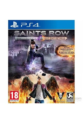 Saints Row İv Re-Elected And Gat Out Of Hell Ps4 Oyun