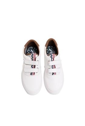 U.S. Polo Assn. Erkek Çocuk Beyaz Ayakkabı