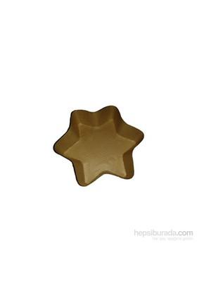 KullanAtMarket Porsiyonluk Yıldız Kek Kalıbı 5 Adet