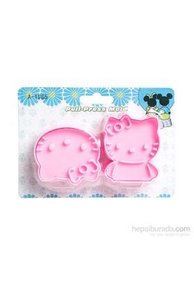 Kullanatmarket Hello Kitty Kurabiye Kalıbı 1 Adet