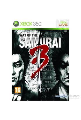 Sega Xbox 360 Way Of The Samuraı 3