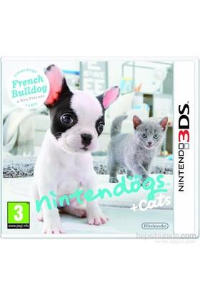 Nintendo 3Ds Nıntendogs French Bulldog + Cats
