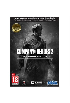 Sega Pc Company Of Heroes 2 Platinum Edition