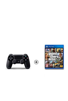 Sony Playstation Dualshock 4 + Gta5 Ps4 Oyun