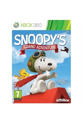 Activision X360 Snoopy's Grand Adventure