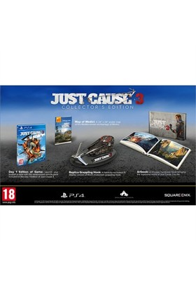 Square Enix Ps4 Just Cause 3 Collector Edt.