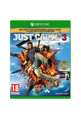 Square Enix Xbox One Just Cause 3:Capstone Rpg Limited Edt.