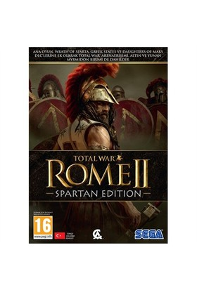 Sega Pc Total War Rome Iı Spartan Edition