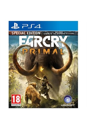Ubisoft Ps4 Far Cry Prımal Specıal Edition