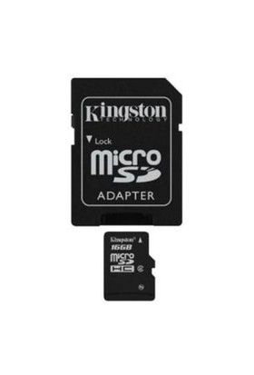 Kingston 16 GB Class 2 Micro SDHC Hafıza Kartı SDC2/16GB