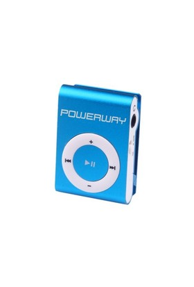 Powerway DRN-X08 4GB MP3 Player - Mavi