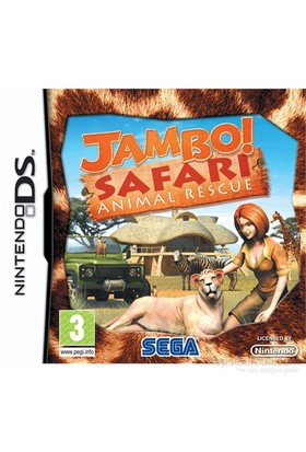 Sega Ds Jambo Safarı Anımal Rescue