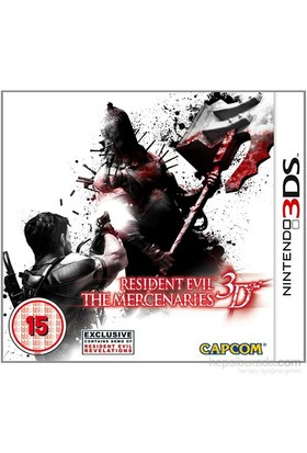 Capcom 3Ds Resıdent Evıl The Mercenarıes