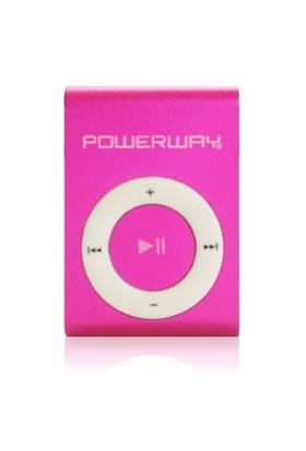Powerway DRN-X08 Pembe Mp3 Player (KSFPOWERPWX08B)