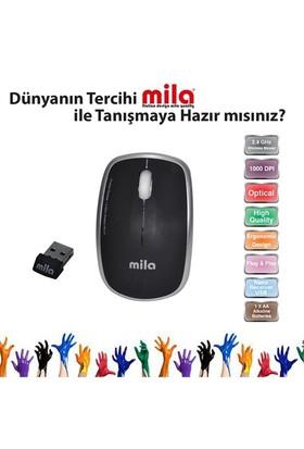 Classone Mila Silent Serisi Kablosuz Siyah Mouse (ML402)