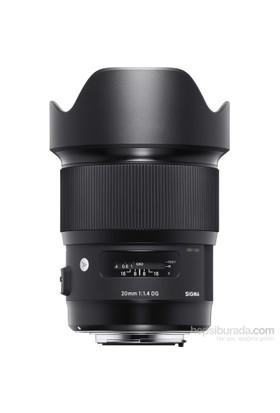 Sigma 20Mm F1.4 Dg Hsm Art Canon Uyumlu Objektif