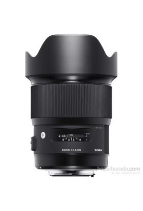 Sigma 20Mm F1.4 Dg Hsm Art Nikon Uyumlu Objektif