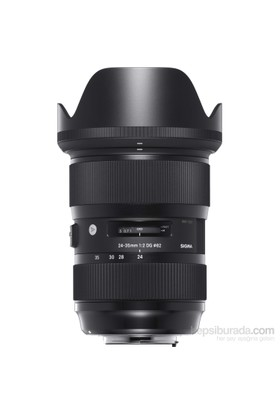Sigma 24-35Mm F2 Dg Hsm Art Canon Uyumlu Objektif