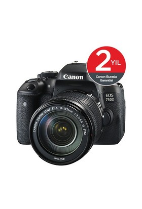 Canon EOS 750D 18-135mm IS STM DSLR Fotoğraf Makinesi