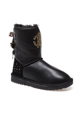 Roberto Cavalli Cl40814 Kadın Ayakkabı Siyah