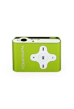 Powerway Mini 4GB Yeşil Mp3 Player (KSFPOWERMINIV)