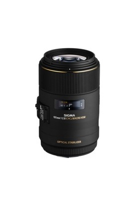 Sigma 105MM F/2.8 EX DG OS HSM Macro Objektif Nikon Uyumlu