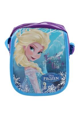 Frozen 86091 Mavi Kız Çocuk Omuz Çantası
