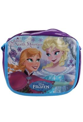 Frozen 86099 Mavi Kız Çocuk Omuz Çantası