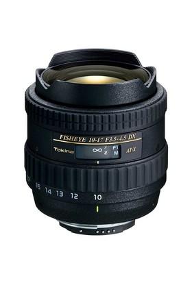 Tokina 10-17mm F/3.5-4.5 AT-X DX Balıkgözü Zoom Lens